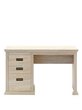 home-collection-clifton-3-drawer-desk