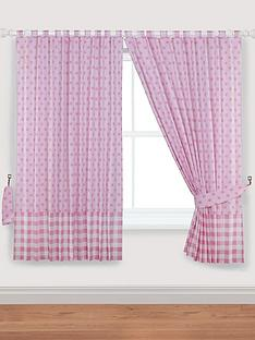 ladybird-my-little-world-wishes-curtains-with-tie-backs-pink