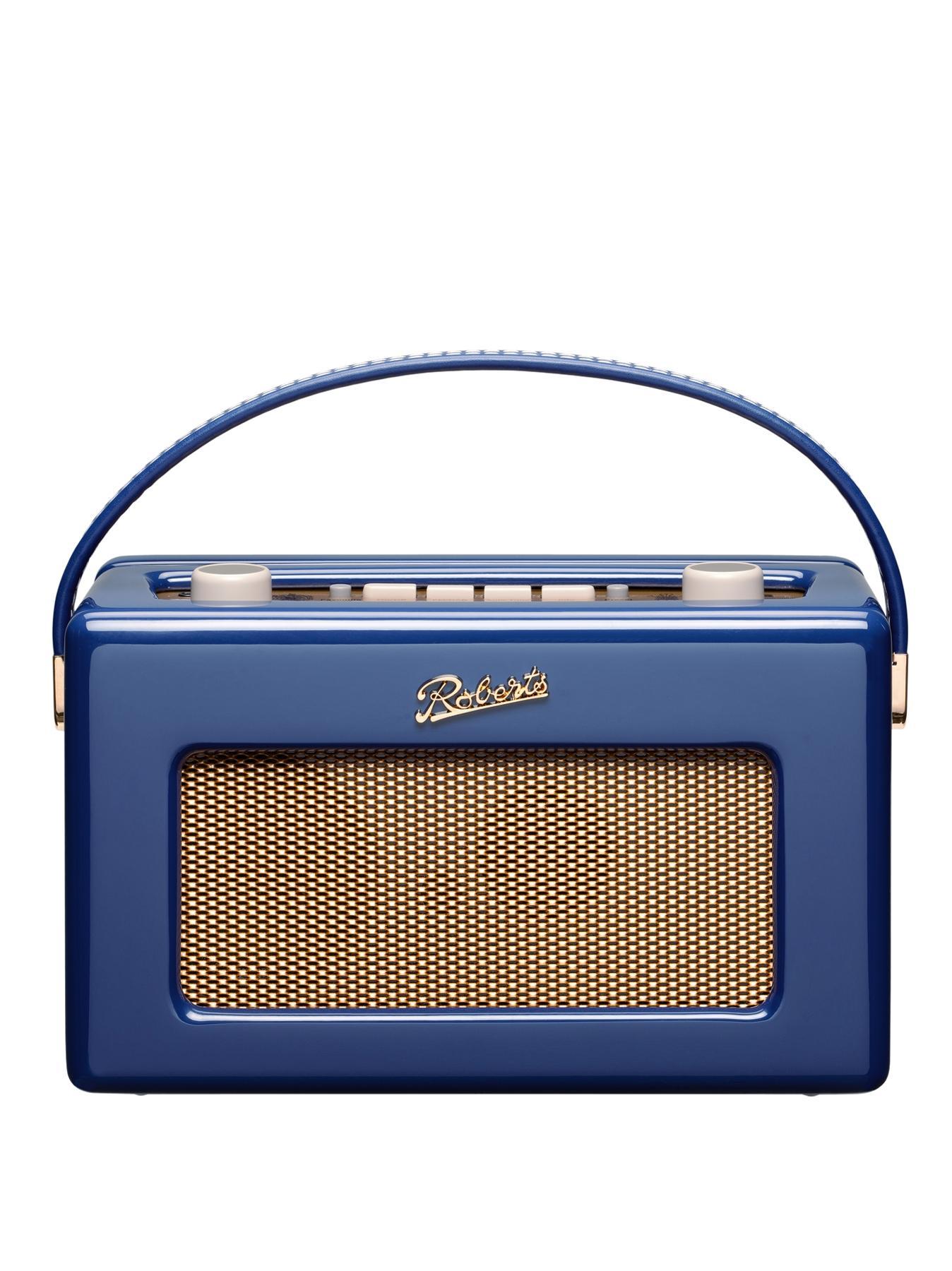 Roberts DAB Revival Gloss Radio - Blue