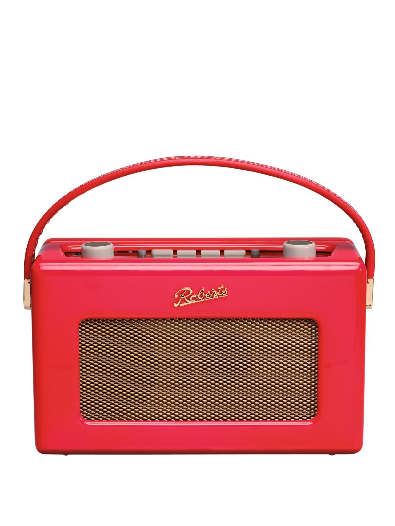 Roberts DAB Revival Gloss Radio - Red