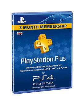 playstation-playstationplus-3-month-membership