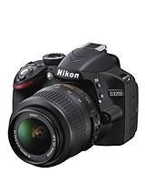 D3200 24.2 Megapixel Digital SLR Camera with 18-55mm Single Lens Kit
