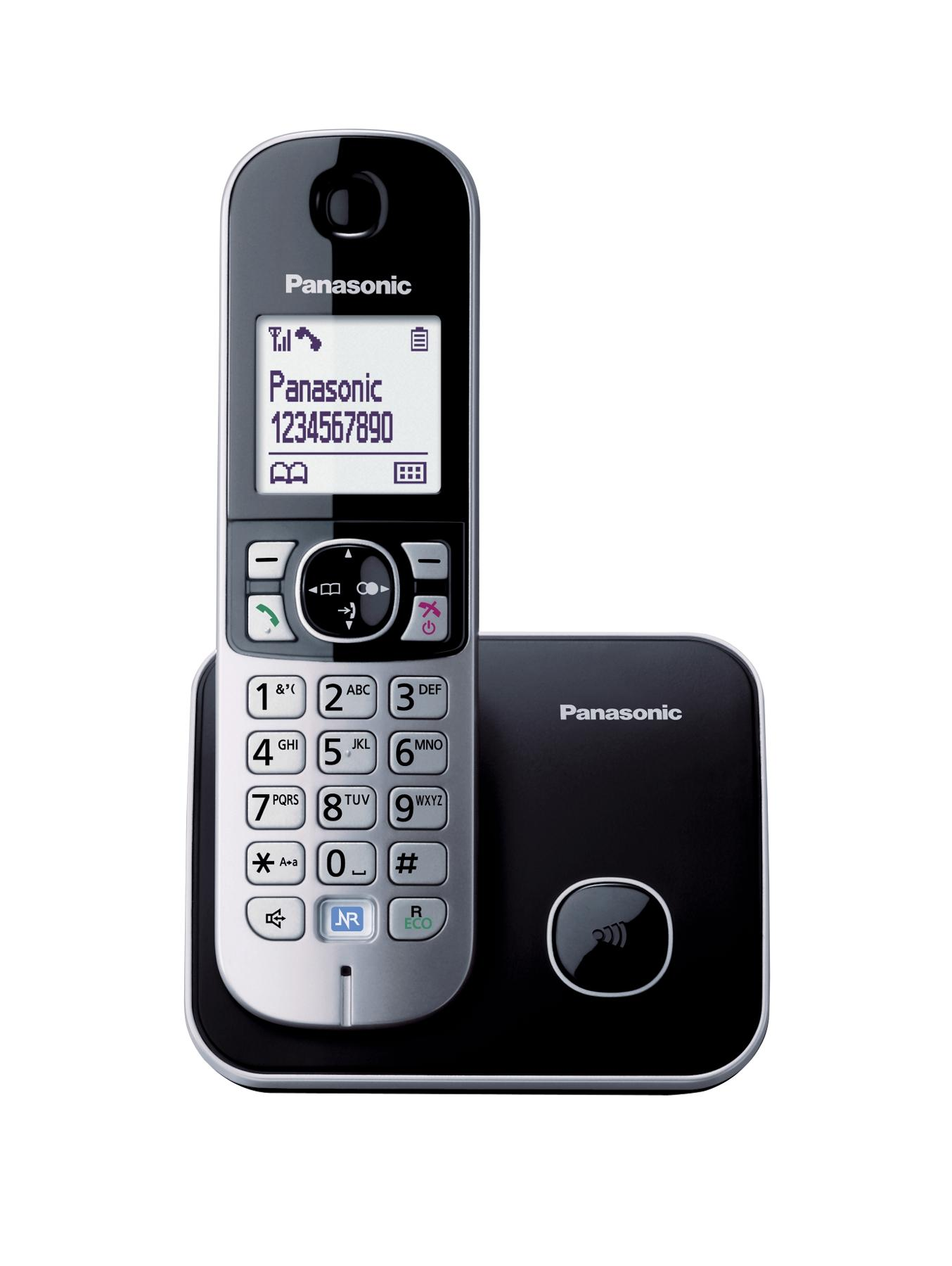 Panasonic KX-TG6811EB Single DECT Cordless Telephone - Black