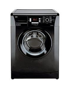beko-wmb714422b-7kg-load-1400-spin-washing-machine-black-next-day-delivery