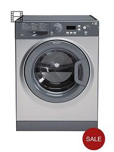 hotpoint-wmyf842g-1400-spin-8kg-load-washing-machine-graphite