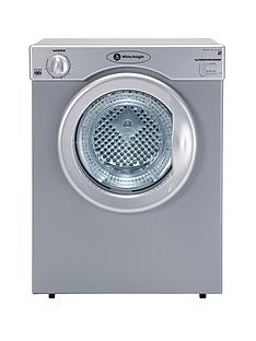 white-knight-c37as-3kg-load-compact-vented-dryer-silver