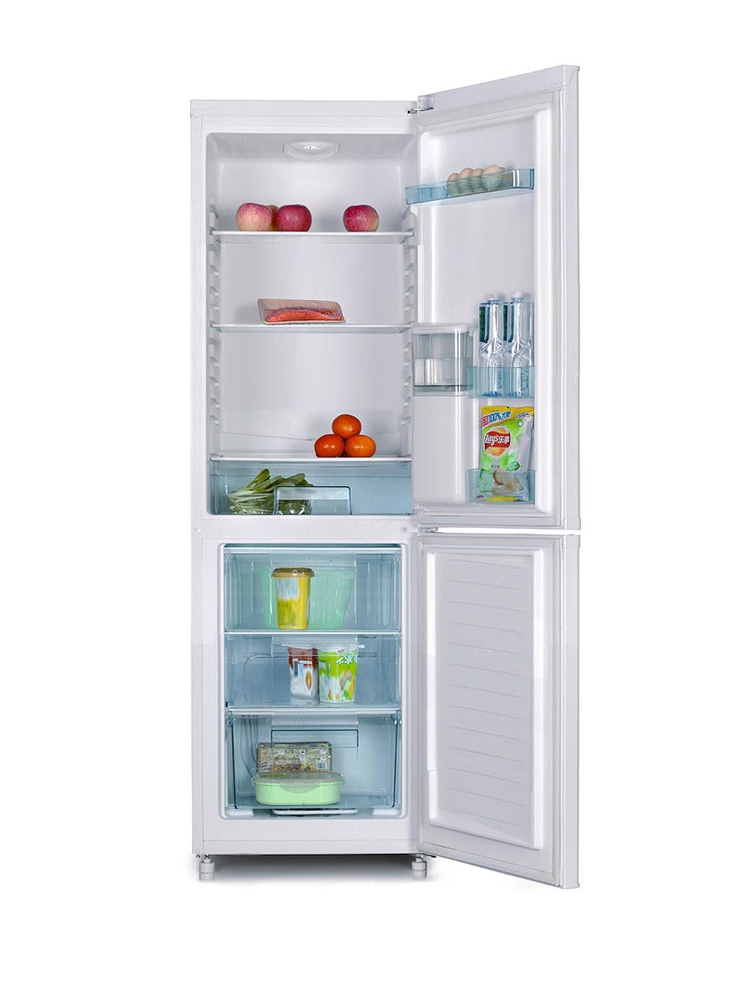 swan sr5330s 55cm fridge freezer with water dispenser. Black Bedroom Furniture Sets. Home Design Ideas