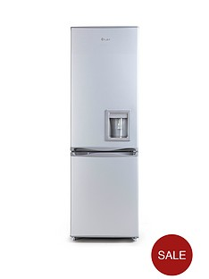 swan-sr5330s-55cm-fridge-freezer-with-water-dispenser-silver