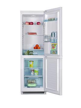 swan-sr5330b-55cm-fridge-freezer-with-chilled-water-dispenser-black