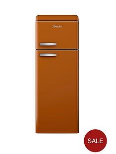swan-sr11010o-55-cm-retro-top-mount-fridge-freezer-orange