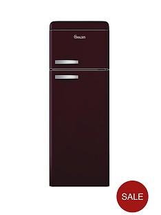 swan-sr11010wr-55cm-retro-top-mount-fridge-freezer-wine