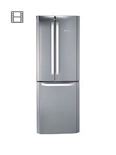 hotpoint-ffu3dx-quadrio-70cm-frost-free-fridge-freezer-stainless-steel