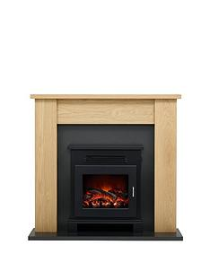 be-modern-craven-oak-electric-fireplace-suite