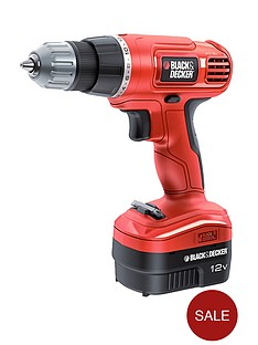 black-decker-epc12cak-gb-12v-cordless-drilldriver-with-kitbox-free-prize-draw-entry
