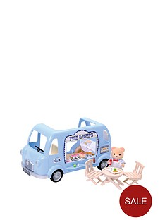 sylvanian-families-fish-and-chips-van