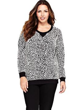so-fabulous-animal-jacquard-sweat-top-available-in-sizes-14-32