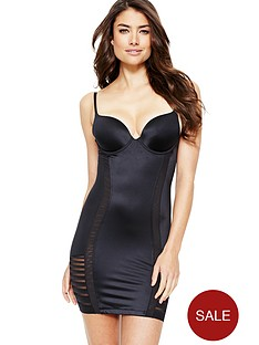 maidenform-sleek-stripes-full-slip
