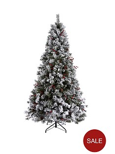 bavarian-pine-christmas-tree-with-snow-6ft