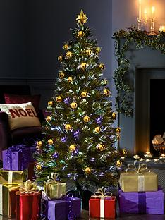5ft-opulence-ready-decorated-fibre-optic-christmas-tree