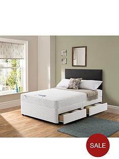 silentnight-miracoil-3-supreme-memory-divan-bed-optional-next-day-delivery