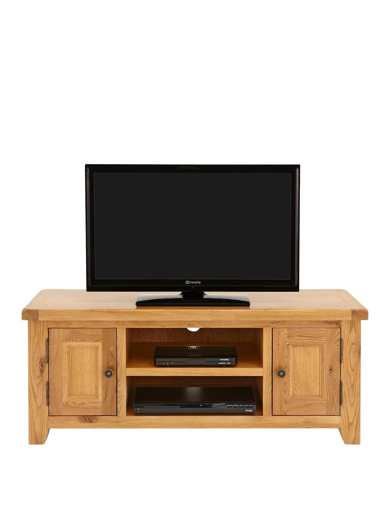 Oakland Ready Assembled Large TV Unit (fits up to 50 inch TV)