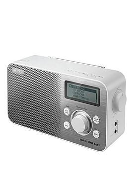 sony-xdrs60dbp-dab-radio-white