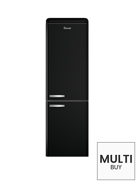 swan-sr11020b-60cm-retro-fridge-freezer-black