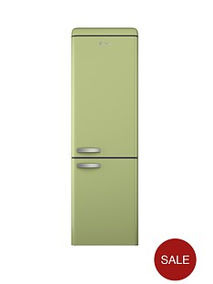 swan-sr11020g-60cm-retro-fridge-freezer-green