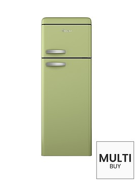 swan-sr11010g-55cm-retro-top-mount-fridge-freezer-green