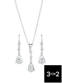 love-gem-sterling-silver-cubic-zirconia-teardrop-earring-and-pendant-set
