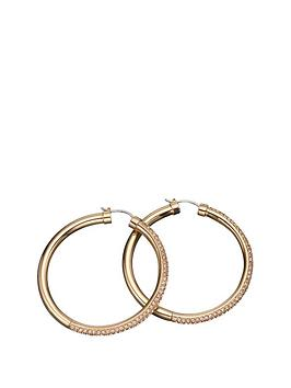 dkny-ladies-rose-gold-glitz-earrings