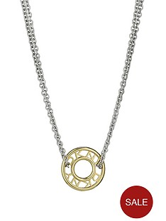 dkny-ladies-silver-and-gold-plated-logo-necklace