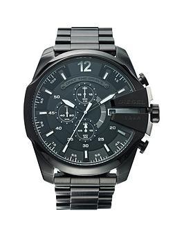 Diesel Mega Chief Black Bracelet Mens Watch