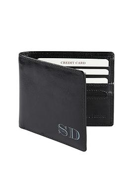 personalised-leather-wallet-black