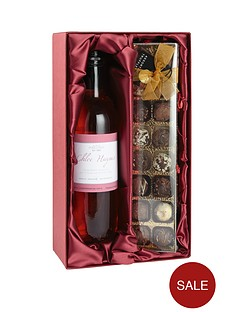 personalised-rose-wine-and-chocolates-gift-set