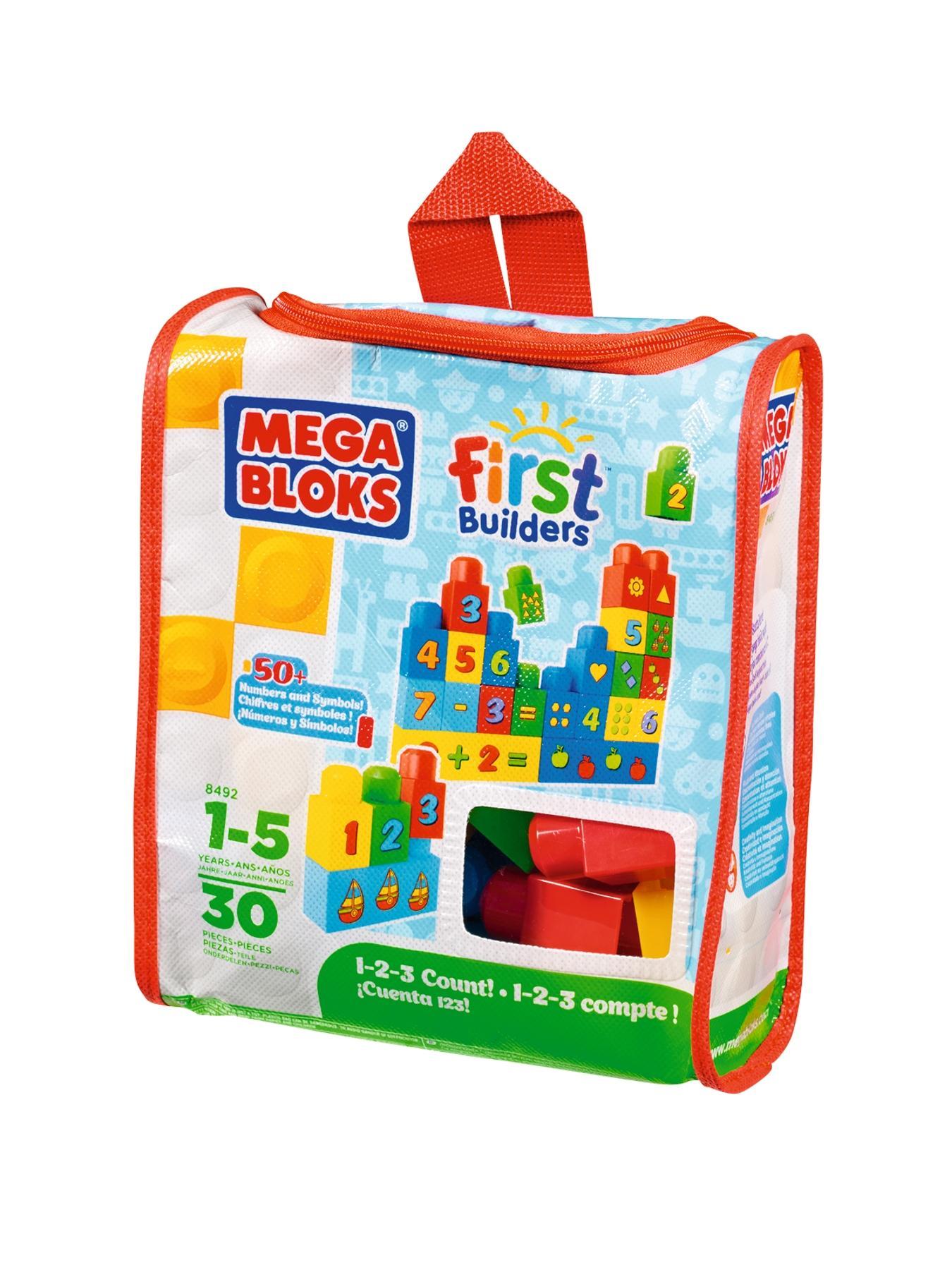 Megabloks First Builders 1-2-3 Count Bag