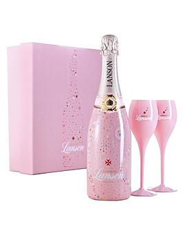 lanson-rose-champagne-deluxe-gift-pack-with-2-pink-champagne-flutes