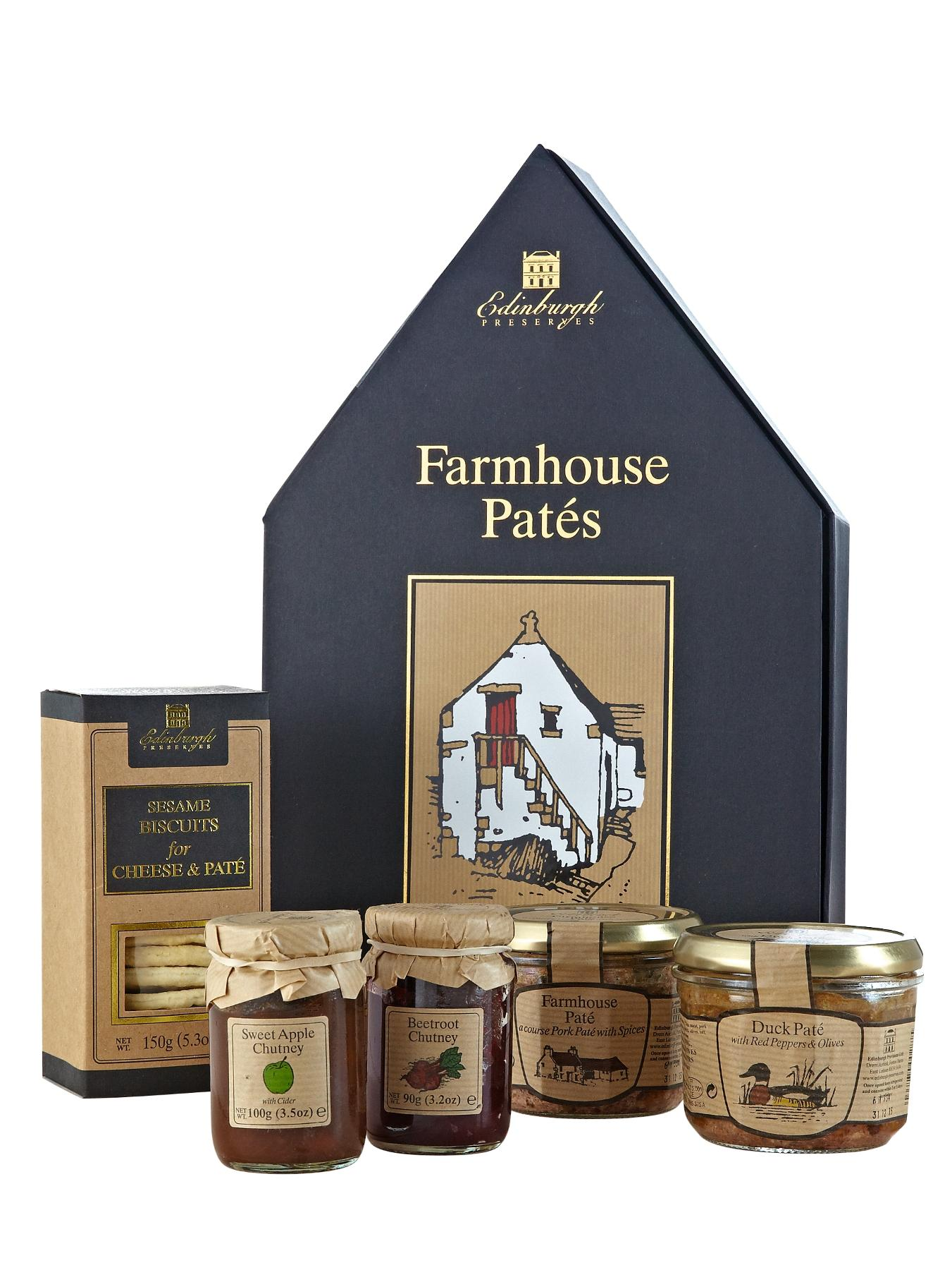 Edinburgh Preserves Farmhouse Pates Gift Box