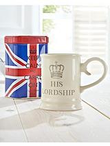 Keep Calm and Carry on - His Lordship Mug and Tea