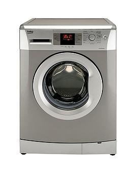 Beko WMB714422S 7kg Load, 1400 Spin Washing Machine - Silver (Next Day Delivery)