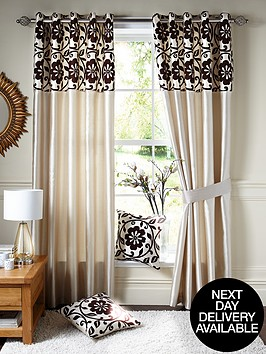 decadence-faux-silk-eyelet-curtains