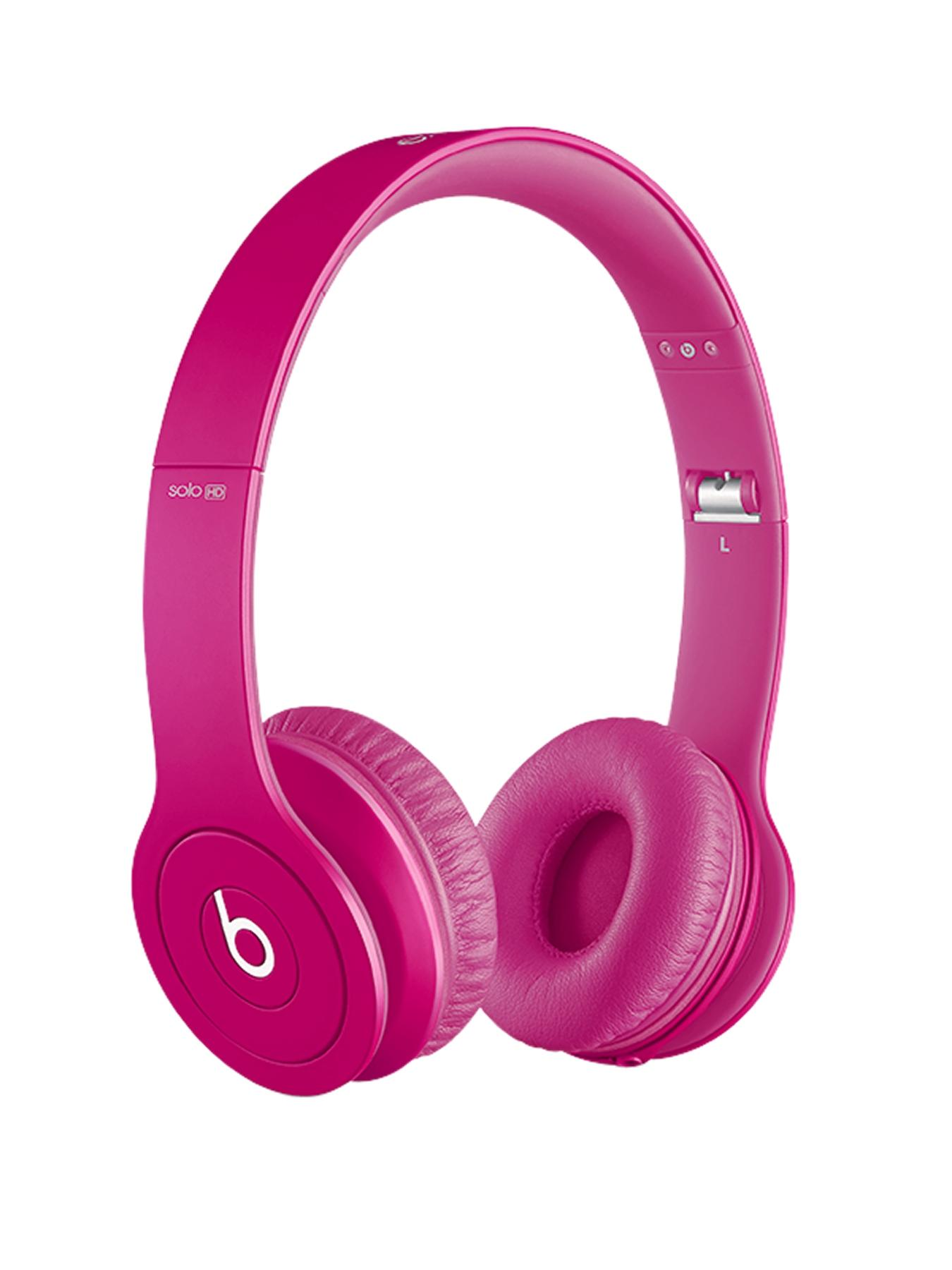 Beats by Dr Dre Solo Monochromatic Headphones - Pink