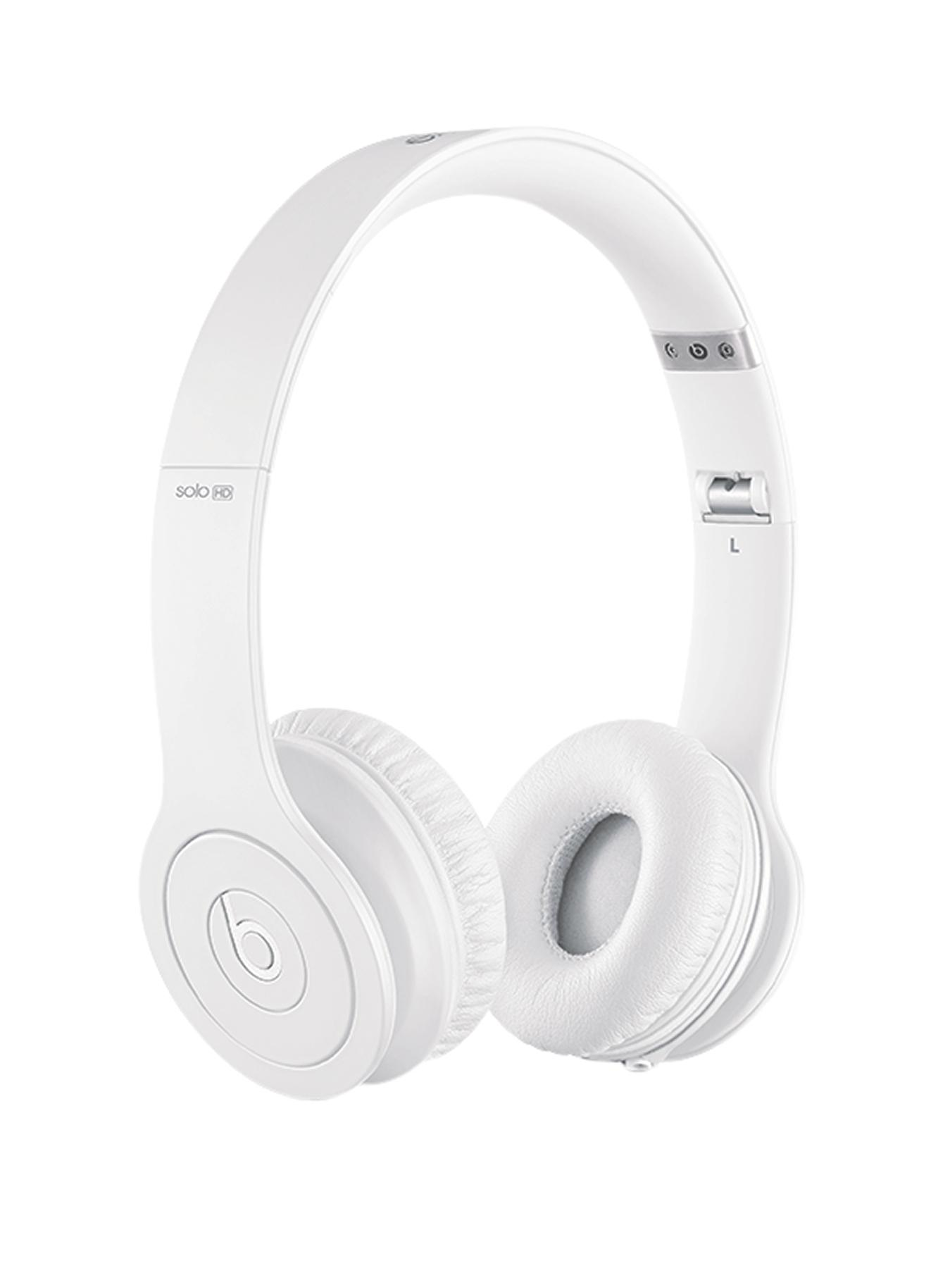 Beats by Dr Dre Solo Monochromatic Headphones - White