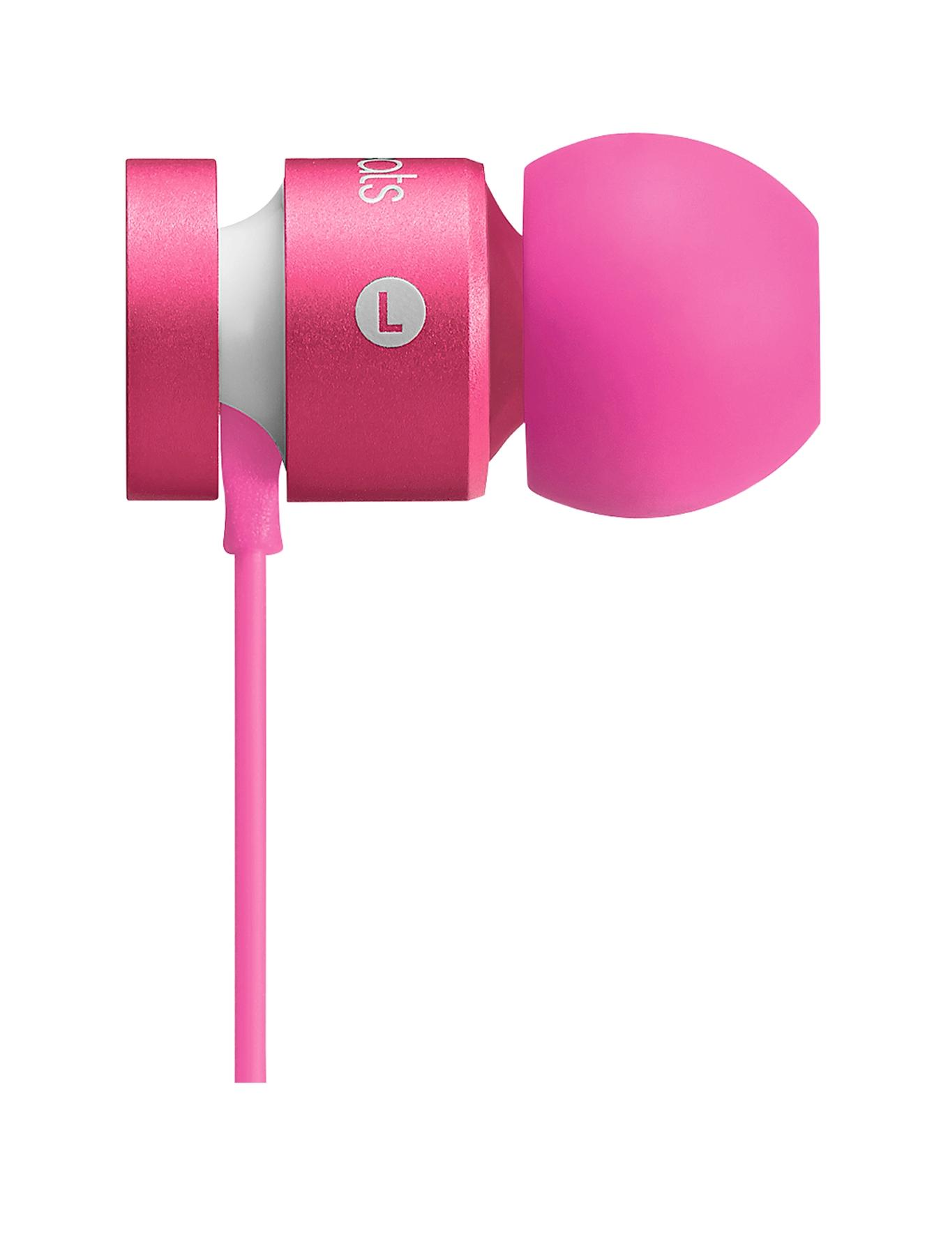 Beats by Dr Dre Urbeats Monochromatic Headphones - Pink