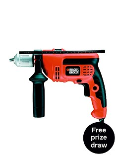 black-decker-kr714cresk-gb-710-watt-percussion-hammer-drill-free-prize-draw-entry