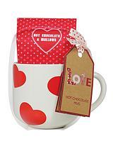 Heart Hot Chocolate Mug