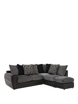 monico-diamond-right-hand-single-arm-corner-chaise-sofa-with-footstool