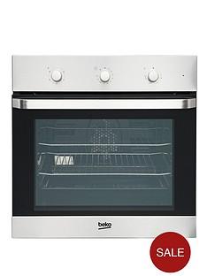 beko-oif22100x-60cm-single-electric-built-in-fan-oven-stainless-steel