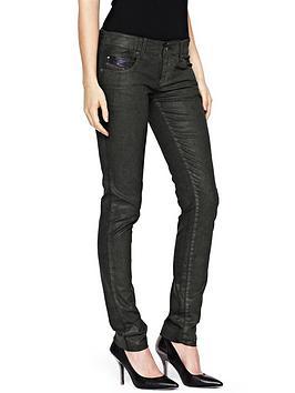diesel-grupee-leather-look-jeans