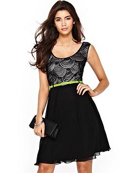 little-mistress-2-in-1-skater-dress-with-contrast-belt